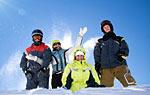 Winterurlaub im Dreiländereck Bayern - Tschechien - Österreich